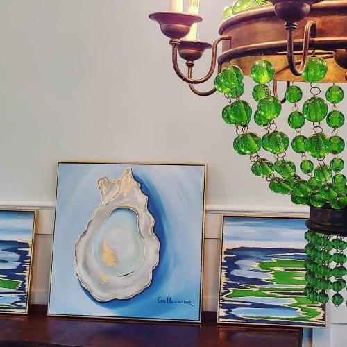 Paintings by Gallavantor Art seen at Daniel Island, Charleston - Oyster