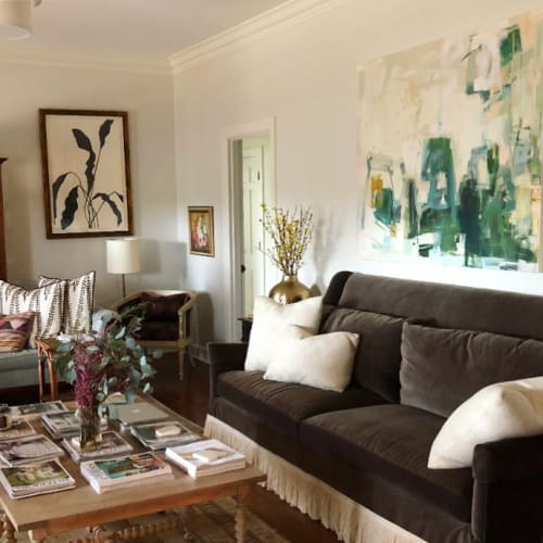 Paintings by Caroline Swetenburg at Private Residence, Athens - Monica and Chandler