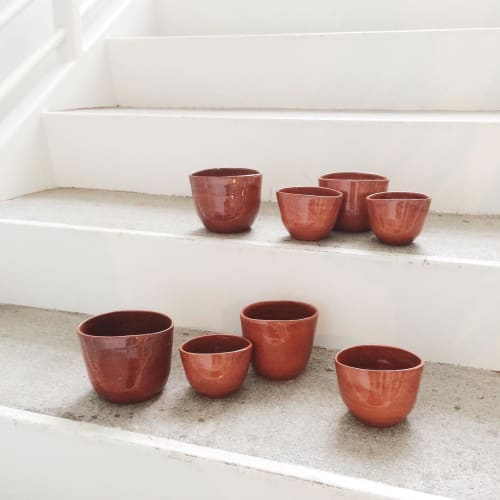 Vases & Vessels by Eny Lee Parker seen at Private Residence, Savannah - Succulent Holders