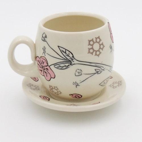 Tea Cups   Cups by MeghCallie Ceramics