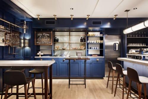 Daily Provisions, Cafès, Interior Design