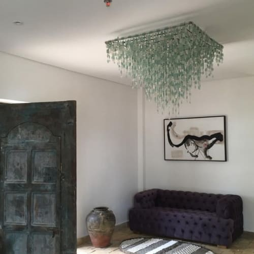 Chandeliers by Katundu Likoma seen at Private Residence - Chandelier