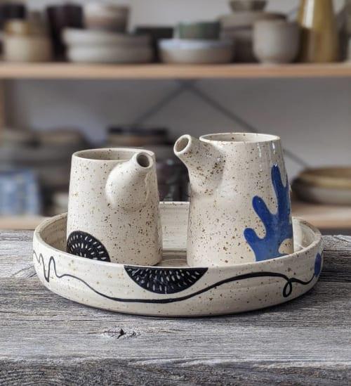 Tableware by Ceramicsbytiz seen at Private Residence, Tallinn - Condiments Set