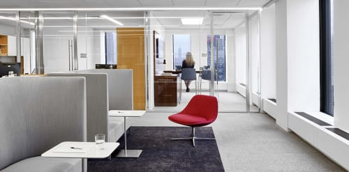 Chairs by Noé Duchaufour-Lawrance seen at White & Case LLP, New York - Chiara Chair