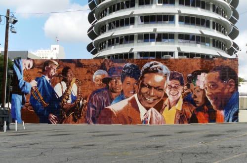 Richard Wyatt Jr. - Murals and Art