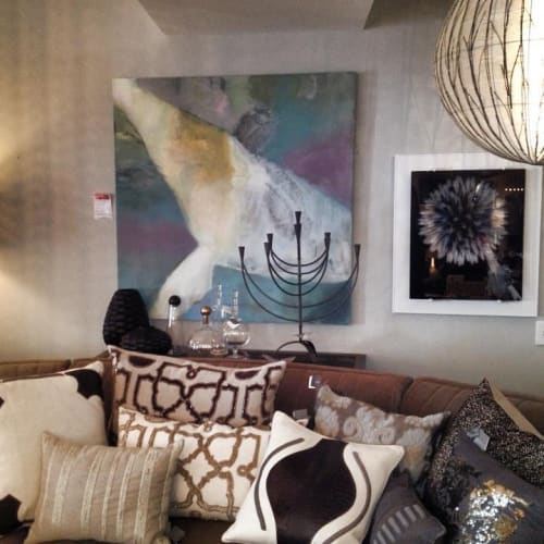 Paintings by Mary Elizabeth Peterson at Private Residence, Westport - Whale Fall