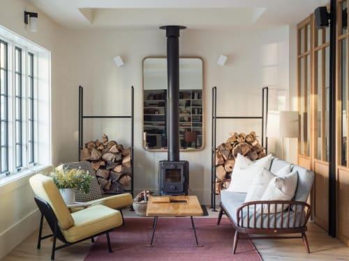 Furniture by Morsø seen at Rivertown Lodge, Hudson - 1440 Stove