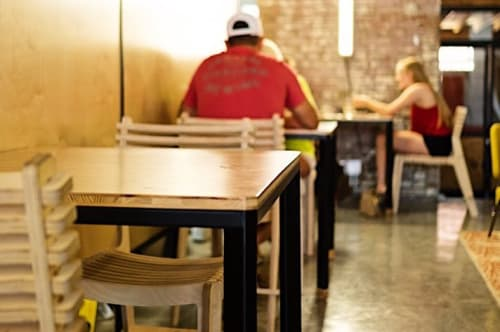 Custom Metal Works   Furniture by Nomad Metal Works   Collective Ex in Kansas City