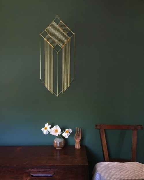 Art & Wall Decor by Beth Naumann seen at Private Residence, Emeryville - Draped Pedestal