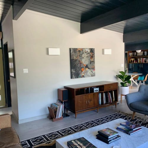 Paintings by Paula Valenzuela Art seen at Private Residence, Palo Alto - Keep Flowing