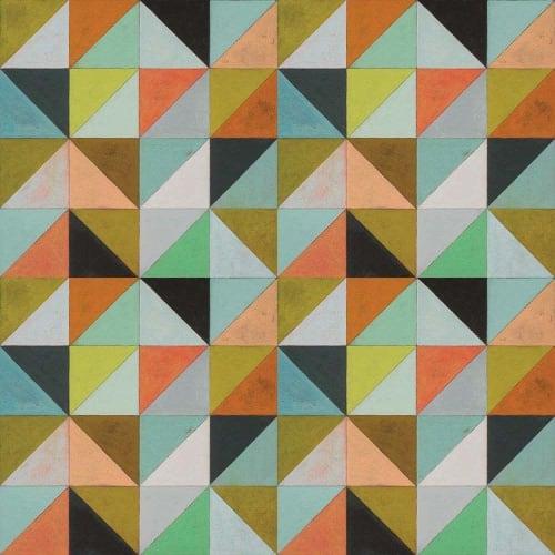 Tiles by Mirth Studio seen at Bounty Kitchen Denny Triangle, Seattle - Flirt Hardwood Tile