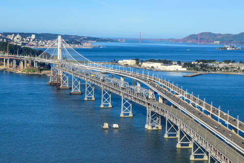 San Francisco – Oakland Bay Bridge, Public Service Centers, Interior Design