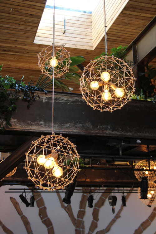 Lighting by Alexis Laurent seen at The Pearl, San Francisco - Ball LIghts