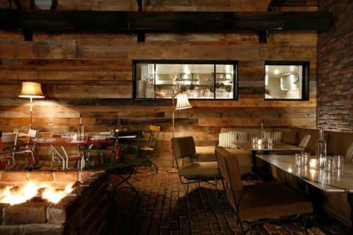 Gjelina, Restaurants, Interior Design