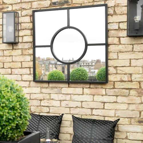 Wall Hangings by Casa Botelho seen at South Kensington Home, London - Bacco Mirror