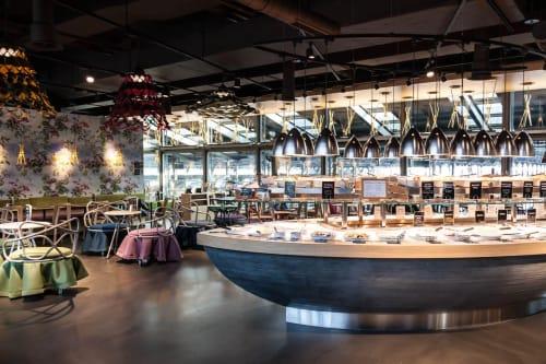 tibits Luzern, Restaurants, Interior Design