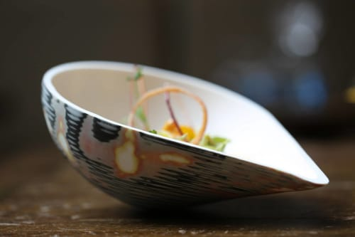 Tableware by Manos Kalamenios seen at Lima London, London - Fine Bone China Vessel