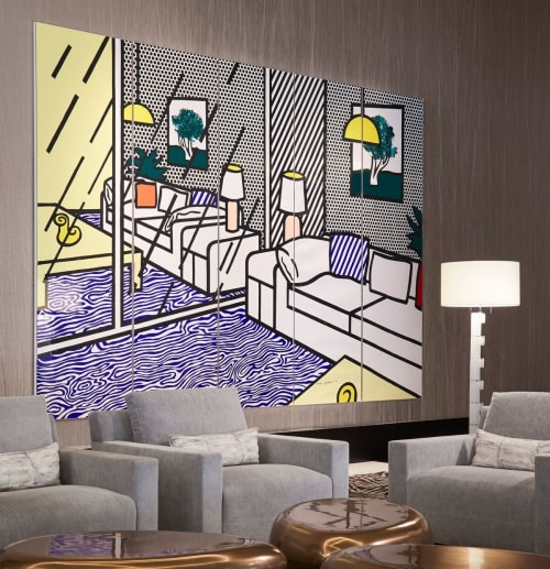 Art Curation by NINE dot ARTS seen at The Ritz-Carlton, Chicago, Chicago - Art Curation