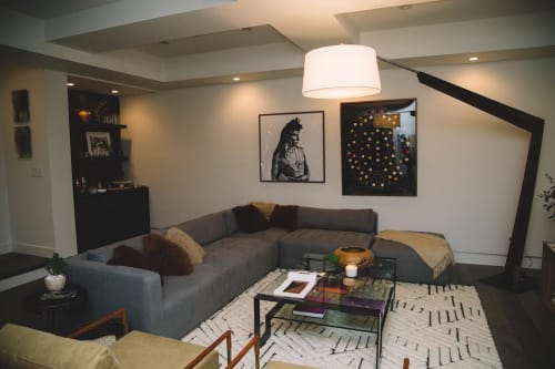 Lamps by Cerno seen at Private Residence, Santa Monica - Valeo Floor Lamp