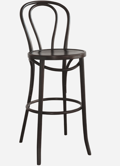 Chairs by Michael Thonet seen at Red Herring, Los Angeles - Thonet Barstool (Designed by Michael Thonet)