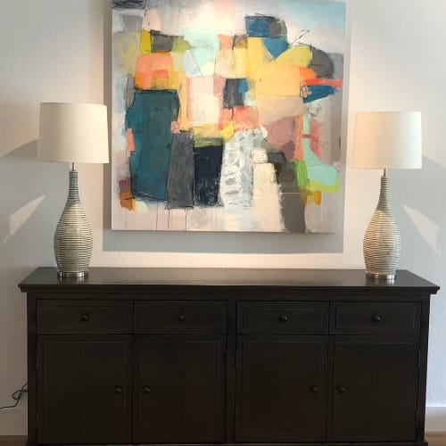 Paintings by Terri Froelich Fine Art seen at Private Residence, Greenbrae, CA, Kentfield - Foundation 11