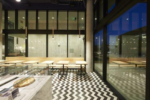 Noon All Day, Restaurants, Interior Design