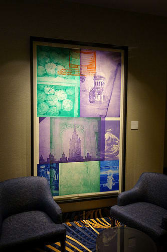 Art & Wall Decor by Robert Rauschenberg seen at MGM National Harbor Resort & Casino, Oxon Hill - Multi-dimensional Pieces