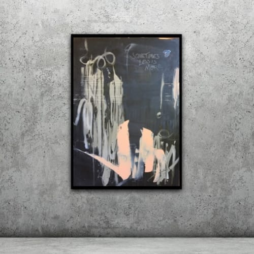 Paintings by S. Kirsch seen at Private Residence, Frankfurt - Sometimes Less Is More