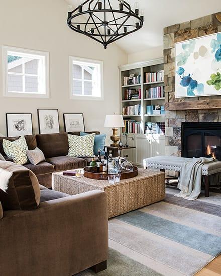 Interior Design by Kriste Michelini Interiors seen at Los Altos Hills Residence, Los Altos - Interior Design