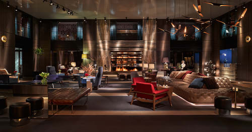 Lighting by Delightfull seen at Paramount Hotel, New York - Coltrane Ceiling Lamp