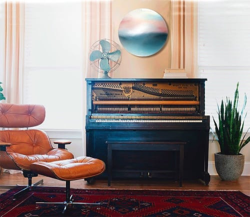 Paintings by Marina Dunbar seen at Private Residence, Charleston - Silent