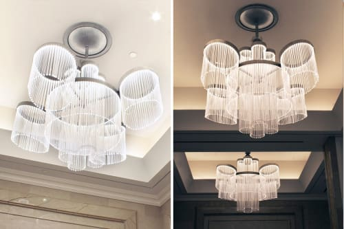 Pendants by Lukas Lighting Inc seen at Loews Regency New York, New York - Custom Pendant Fixtures