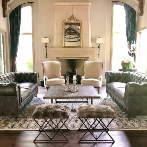 Interior Design by JDuce Design seen at Private Residence, Denver - Luxurious Living Room