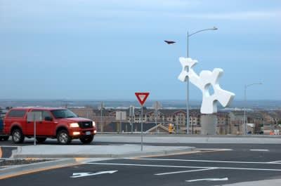 Public Sculptures by CJRDesign at Kennewick, Kennewick - Catch The Spirit