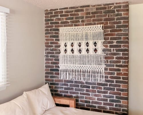 Macrame Wall Hanging by Pacific Knotwest seen at Private Residence, Seattle - Wall Hanging