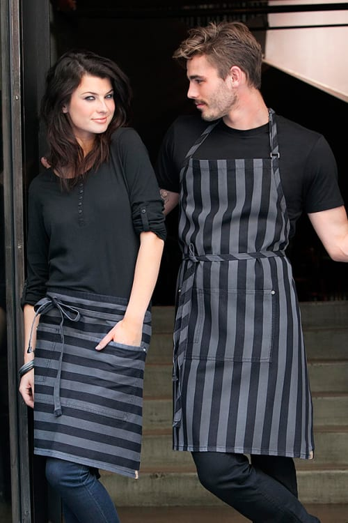 Aprons by Chef Works seen at Petit Crenn, San Francisco - Aprons