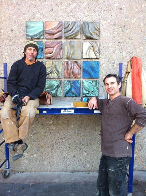 Murals by Natalie Blake Studios seen at Chabot College, Hayward - Chavez Court Tree