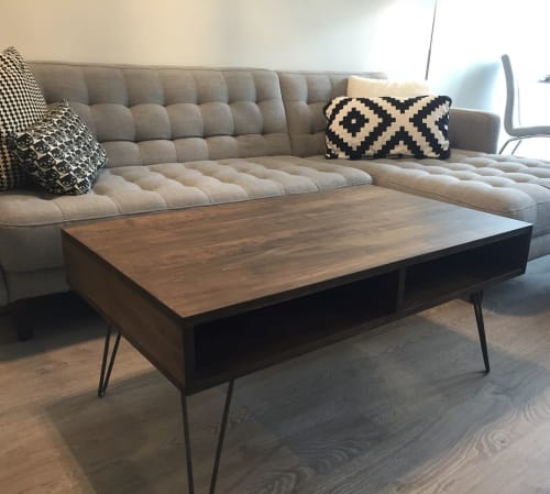 Tables by Caveman Build & Supply Co. seen at Private Residence, Toronto - Maple Coffee Table