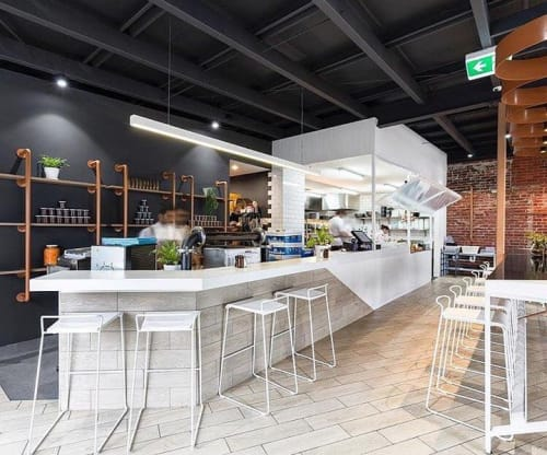 Chairs by m.a.d. furniture design at Mabel Jones, Greensborough - Transit Barstool