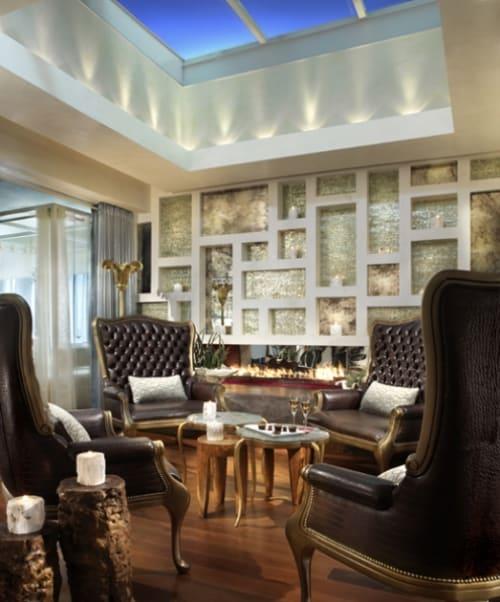Interior Design by Thomas Schoos seen at The Penthouse at the Huntley Hotel, Santa Monica - Interior Design