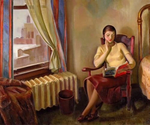 J. Theodore Johnson - Murals and Art