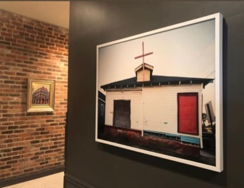 Photography by David Armentor seen at The Old No. 77 Hotel & Chanderly, New Orleans - Small White Church Study