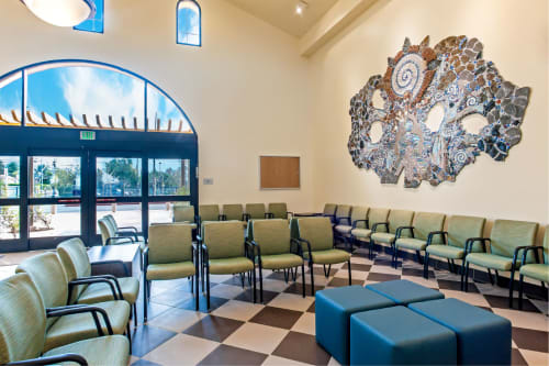 Murals by Juliana Martinez seen at North Hills Wellness Center, Los Angeles - Respect Through the Ages