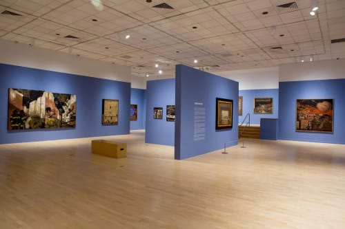 The Bronx Museum of the Arts, Grand Concourse, Bronx, NY, Art Galleries, Interior Design