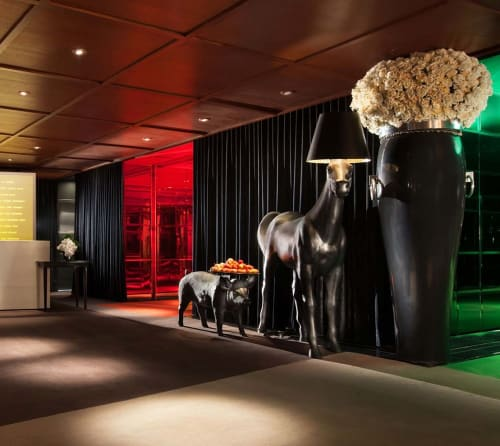 Lighting by Front seen at SLS Hotel, a Luxury Collection Hotel, Beverly Hills, Los Angeles - Horse Lamp