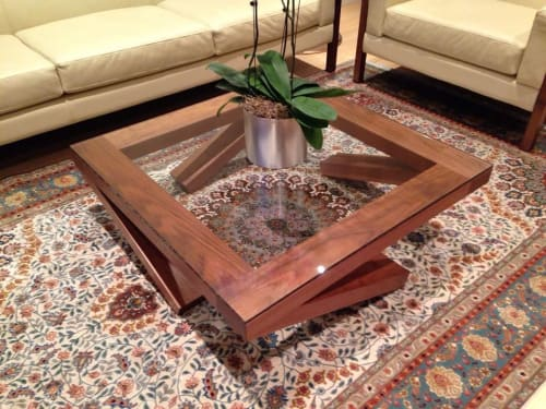 Tables by José Regueiro Studios seen at Private Residence, Chicago - Quest Coffee Table