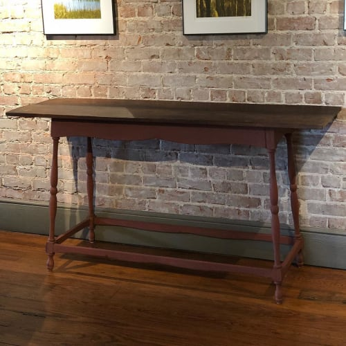 Tables by Wain Green Wood seen at Southern Environmental Law Center, Charleston - Console Table