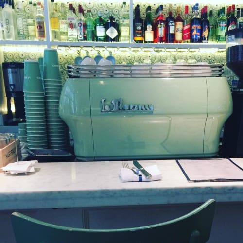 Tableware by La Marzocco seen at La Pecora Bianca, New York - Espresso Machine