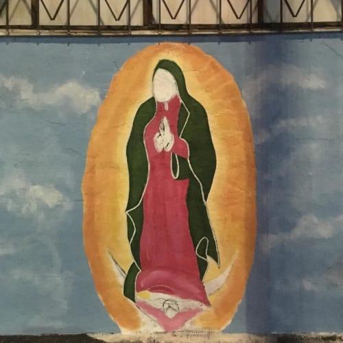Street Murals by Daniel Miller seen at Los Angeles, Los Angeles - Mural