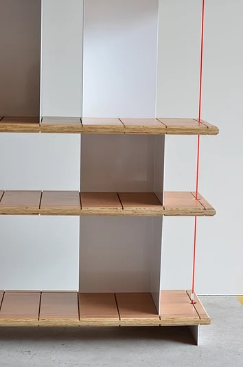 Furniture by Gustavo Bittencourt seen at Private Residence, Rio de Janeiro - Shelf Balance